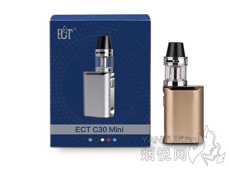 ECT C30Mini Kit套装和悦刻三代灵点电子烟正品价格及口感哪款比较好