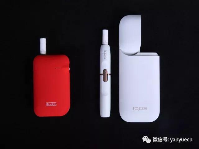 电子烟比较评估:IQOS还是iBuddy i1?
