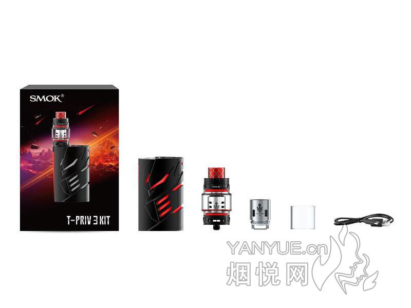 图雾换弹和SMOK T和PRIV 3 套装电子烟正品价格及口感哪款比较好